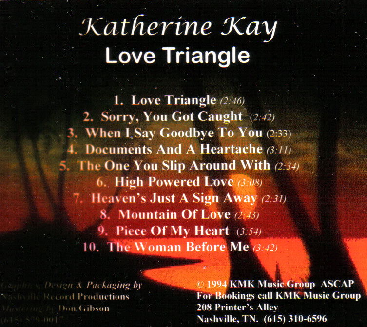 rock songs about love triangles relationship